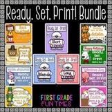 Ready, Set, Print Bundle First Week of School