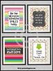 Teacher Appreciation Week Gifts Owl Classroom Decor Set of