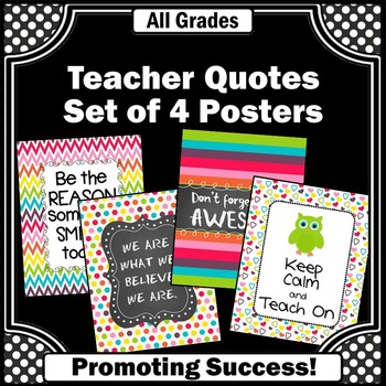 Owls Theme Classroom Decor Motivational Posters Inspiratio