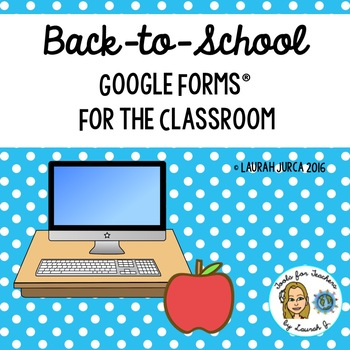 Back-to-School Classroom Forms Digital Bundle for Google Drive