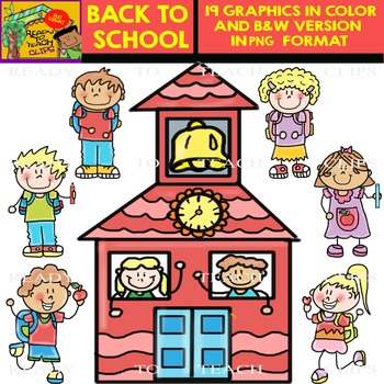 Back to School Clipart - Set 1