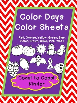Back to School- Color Days