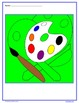 Back to School Color by Number (third grade) Color by Mult