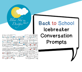 Back to School Conversation Prompts