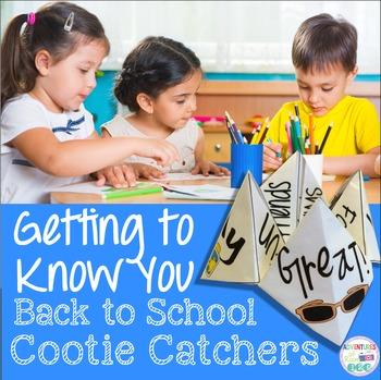 Back to School Cootie Catchers