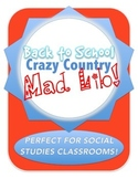 Back to School Crazy Country Mad Lib Pack