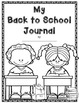 Back to School & Daily August Journal Prompts (differentia