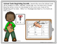 Back to School EDITABLE Letters and Sounds Write the Room