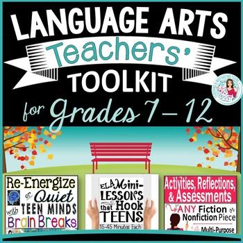 English Language Arts Busy Teacher's Toolkit Bundle for Mi