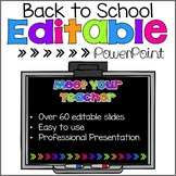 Back to School PowerPoint {Brights}