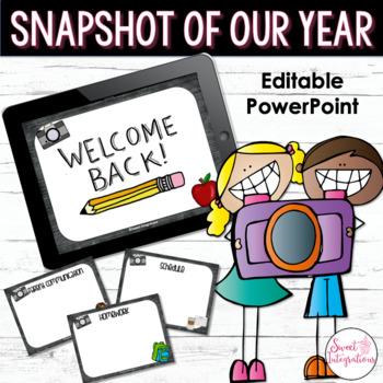 BACK TO SCHOOL Editable PowerPoint Presentation