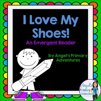"""Back to School Emergent Reader featuring colors:  """"I Love"""