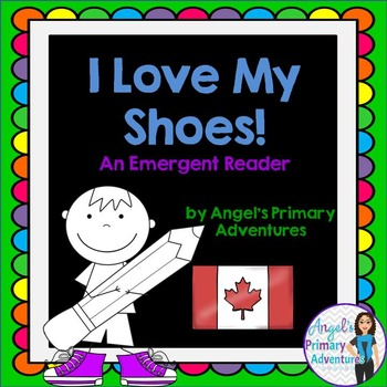"""Back to School Emergent Reader featuring colours:  """"I Love"""