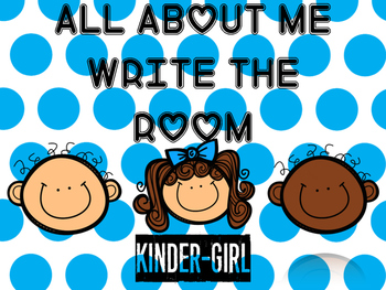 Back to School/End of Year All About Me-Write the Room