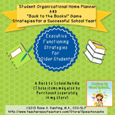 Back to School Bundle:Student Organizer&Executive Function