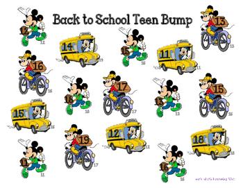 Back to School/Fall Teen Bump~ Disney Theme