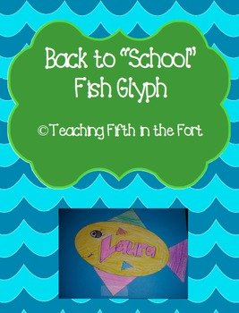 "Back to ""School"" Fish Glyph"
