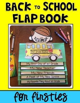 Back to School Flap Book Keepsake for FIRSTIES