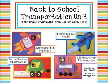 Back to School: Four Transportation Crafts and Nine Litera