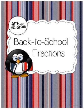 Back-to-School Fractions: What's missing? (Freebie)