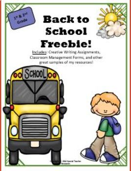 Back to School Freebie (2016-2017)