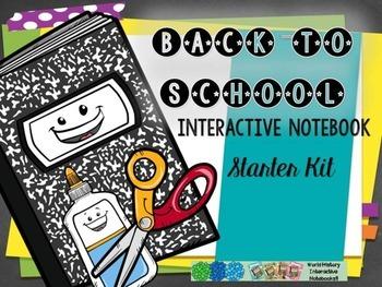 Back to School Freebie! Interactive Notebook Starter Kit