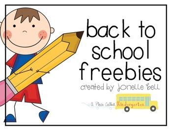 Back to School Freebies