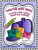 Friendly Letter Writing, Craftivity, and Bulletin Board