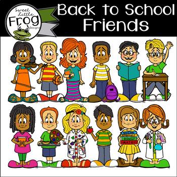 Back to School Friends
