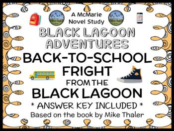 Back-to-School Fright from the Black Lagoon (Thaler) Novel