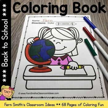 Coloring Pages for Back To School