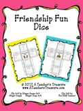 Back to School Fun Friendship Dice