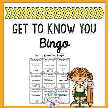 Get to Know You Icebreaker Bingo