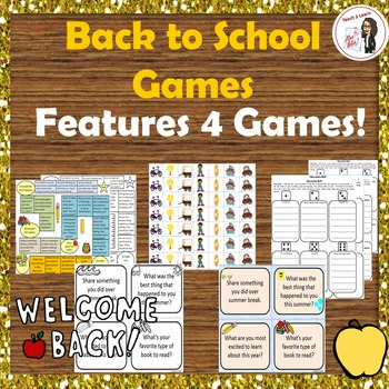 Back to School Games: Rules, Procedures, and Getting to Kn