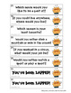 Back to School Activity All About Me ZAP Icebreaker