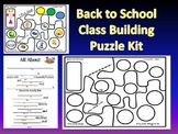 Back to School-Getting to Know You-Puzzle Kit + Writing Ac