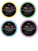 Back to School Glow Stick Student Gift Label