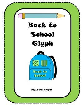 First Day Back to School Glyph