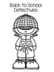 Back to School Glyphs - Detective Theme