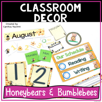 Back to School - Honeybears & Bumblebees