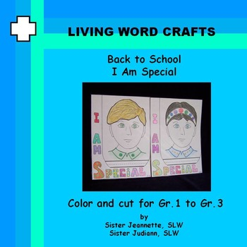 Back to School I Am Special for Gr.1 to Gr.3