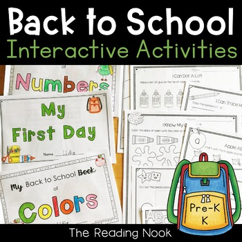 Back to School - Interactive Books and Activities