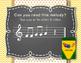 Back to School! Interactive Melodic/Solfa Game - MRD (Kodaly)