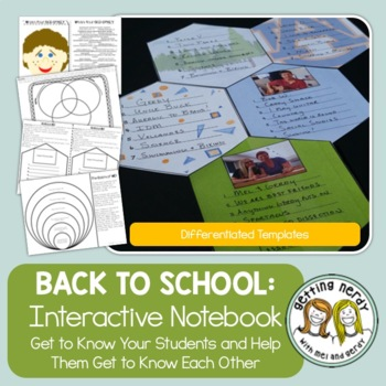 All About Me - Back to School Ice Breakers
