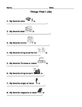 Back-to-School Interest Survey
