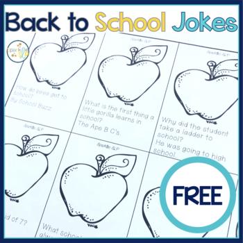 Back to School Jokes {Freebie}