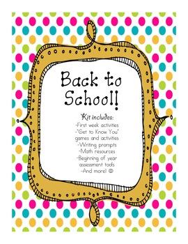 Back to School Kit - FREEBIE!