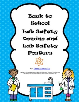 Back to School Lab Safety Domino