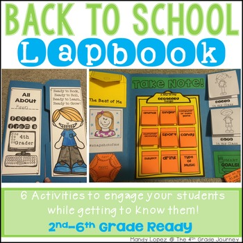 Back to School Lapbook! {6 Engaging Activities to Meet You