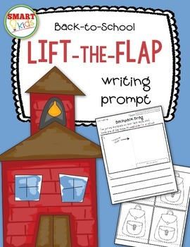 Back-to-School Lift-the-Flap Writing Prompt FREEBIE